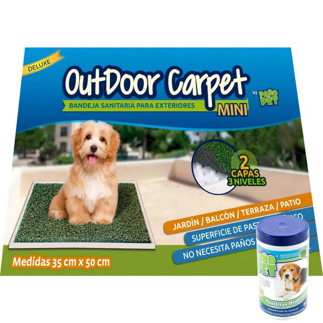 Paño Pet OutDoor Carpet Mini - 35x50cm