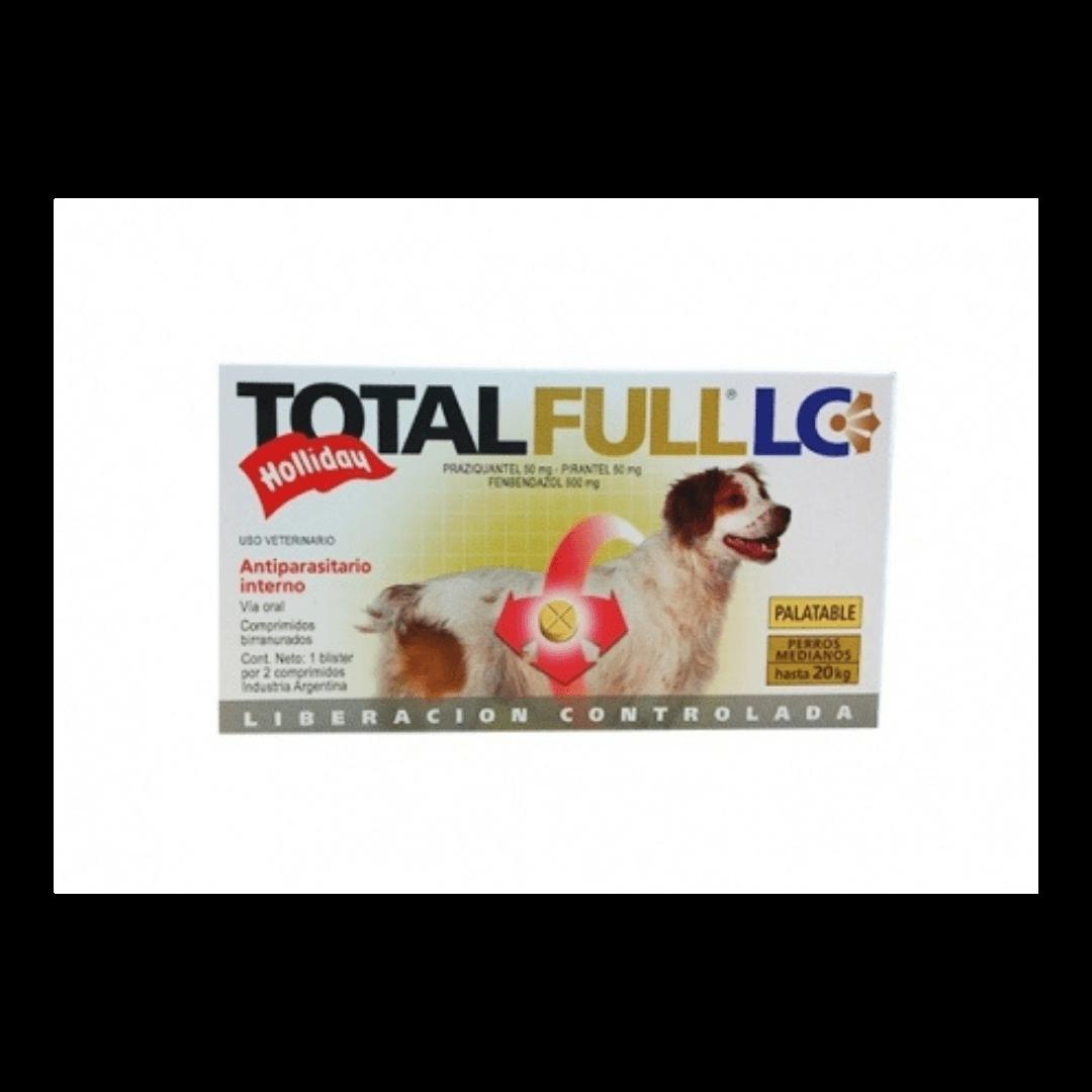 Total Full LC 2 Comprimidos Hasta 20 Kg