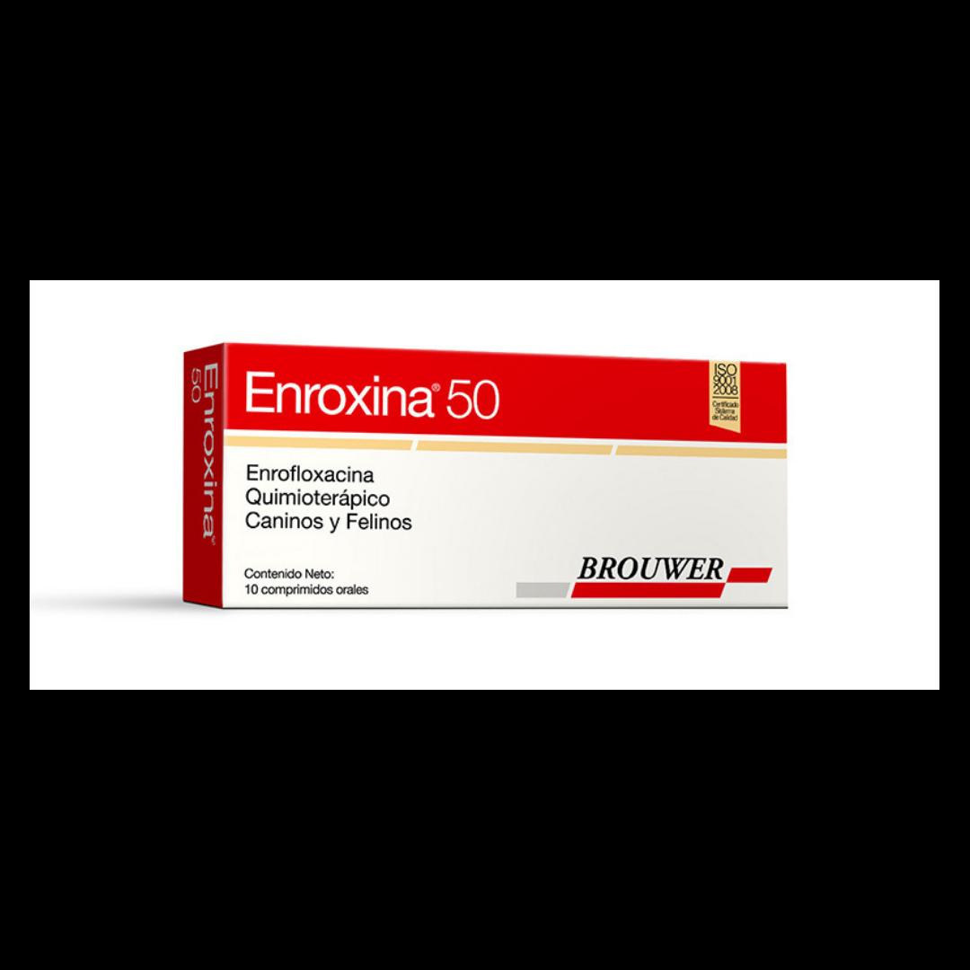 Enroxina 50 -10 Comprimidos