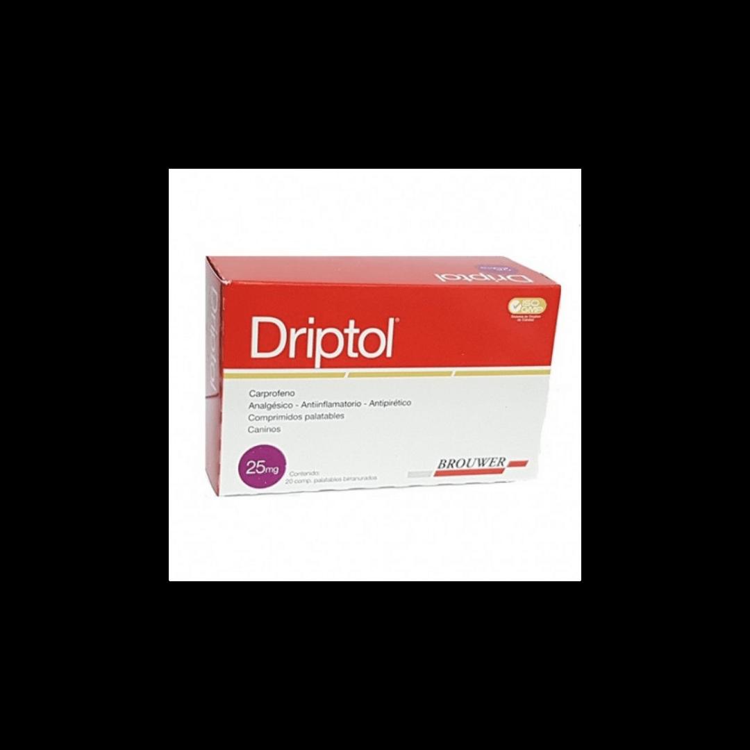 Driptol 25mg x 20 Comprimidos