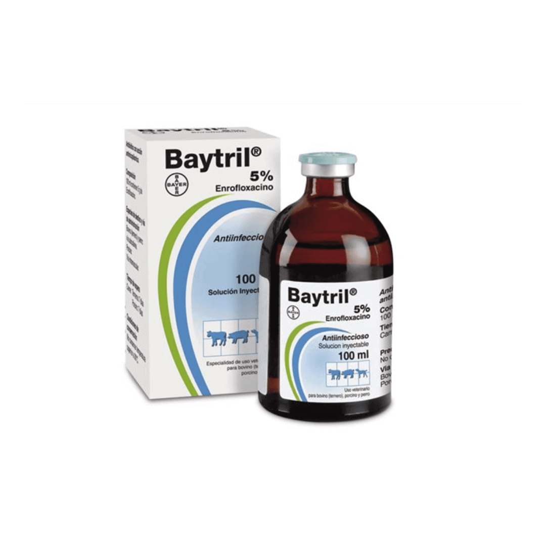 Baytril Inyectable 5% x 20ml