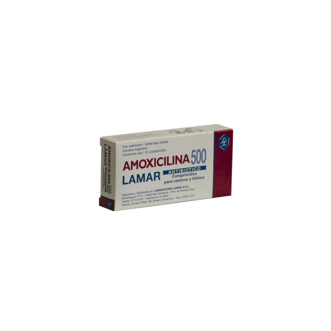 Amoxicilina 500mg x 10 Comprimidos