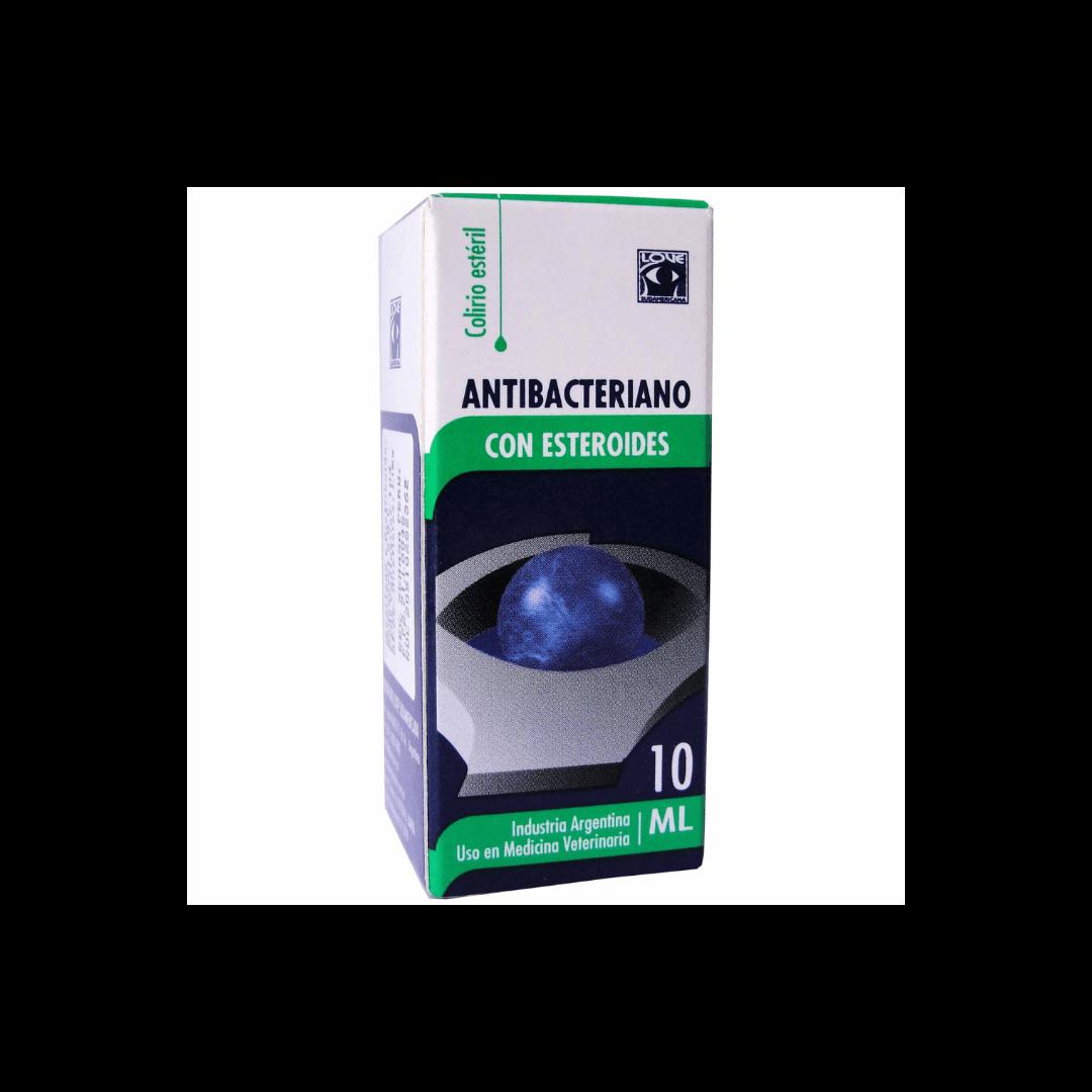 Antibacteriano C/ Esteroides x10 ml