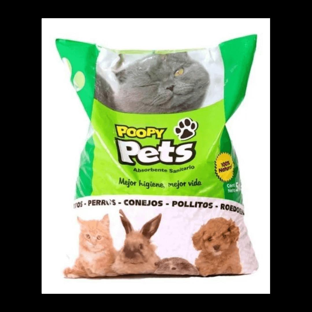Poopy Pets Pack Pellets Sanitarias 5Kg x 1 Unidad